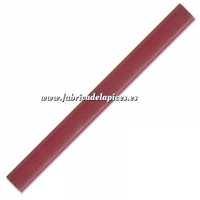Imagen De Carpintero hexagonal Lápiz de carpintero hexagonal de madera rojo