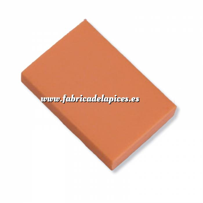 Imagen Gomas de Borrar Goma de Borrar naranja fluorescente