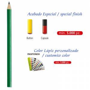 Imagen Redondo cedro Lápiz redondo de madera cedro verde