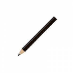 Redondo mini - Lápiz pequeño redondo de madera color negro II