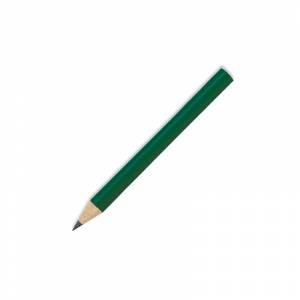 Redondo mini - Lápiz pequeño redondo de madera color verde