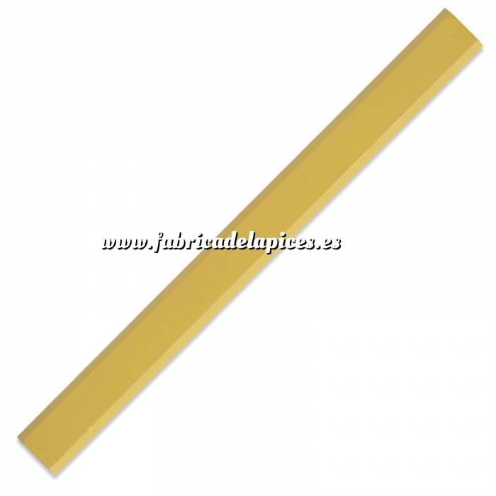 Imagen De Carpintero hexagonal Lápiz de carpintero hexagonal de madera amarillo