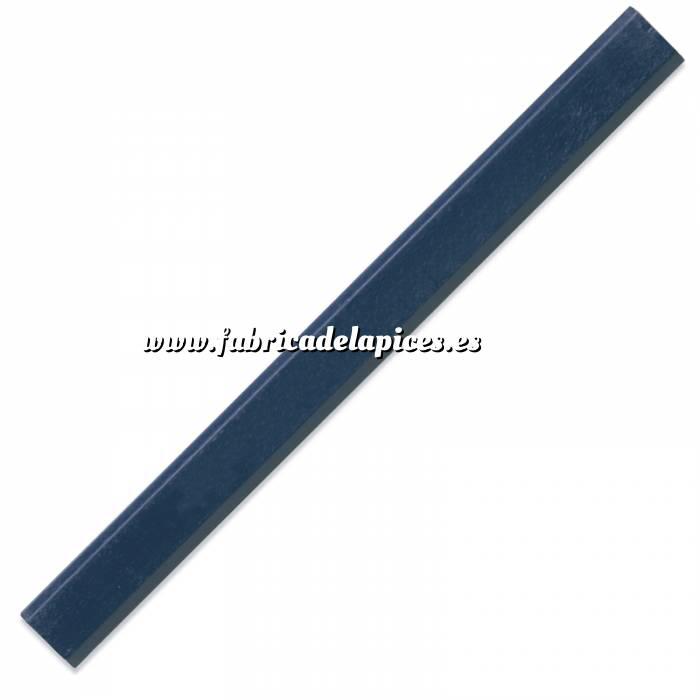 Imagen De Carpintero hexagonal Lápiz de carpintero hexagonal de madera azul