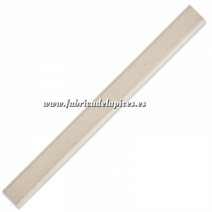 Imagen De Carpintero hexagonal Lápiz de carpintero hexagonal de madera beige