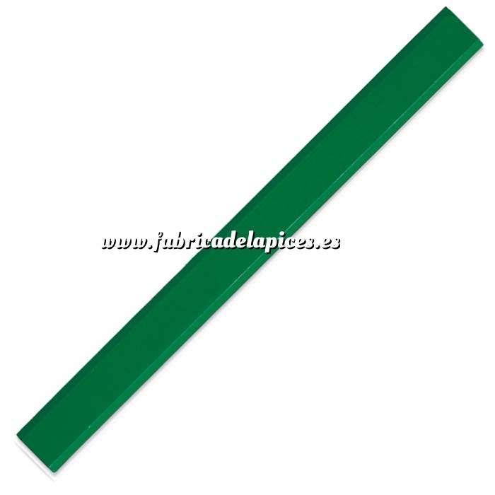 Imagen De Carpintero hexagonal Lápiz de carpintero hexagonal de madera verde