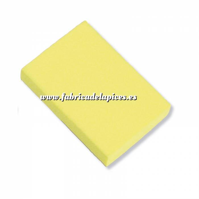 Imagen Gomas de Borrar Goma de Borrar amarilla fluorescente