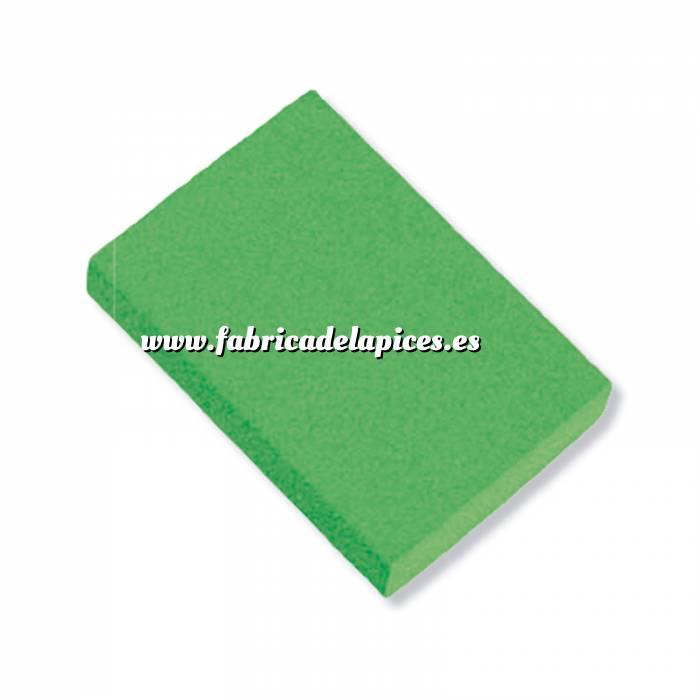 Imagen Gomas de Borrar Goma de Borrar verde fluorescente