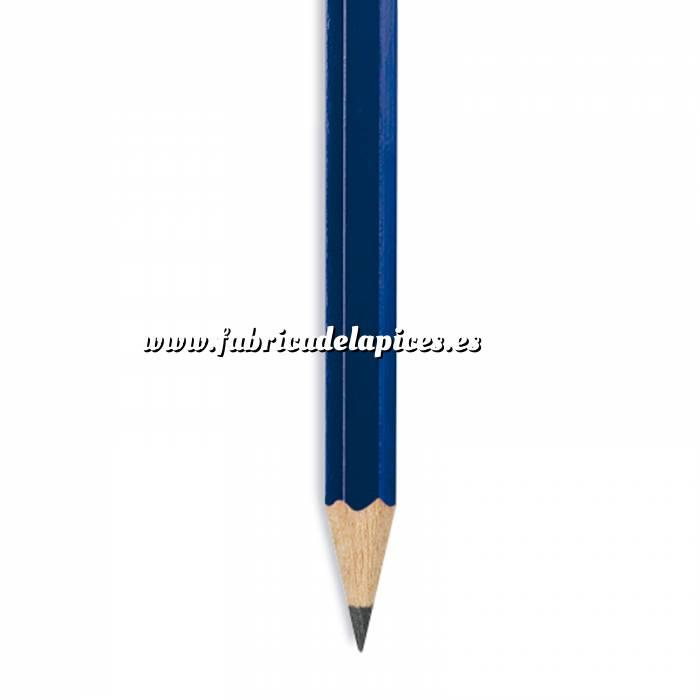 Imagen Hexagonal cedro Lápiz hexagonal de madera cedro azul