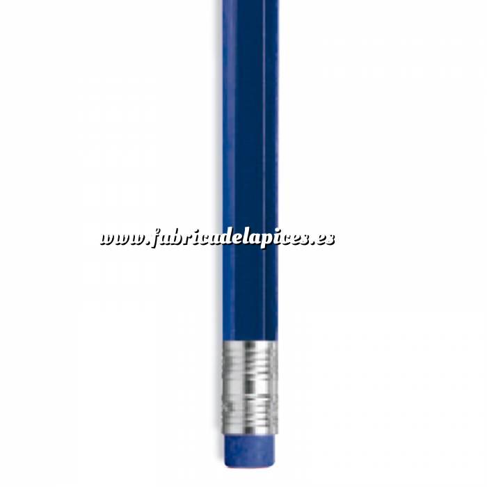 Imagen Hexagonal cedro con goma Lápiz hexagonal de madera cedro azul con goma