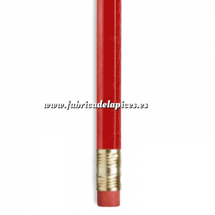 Imagen Hexagonal cedro con goma Lápiz hexagonal de madera cedro rojo con goma
