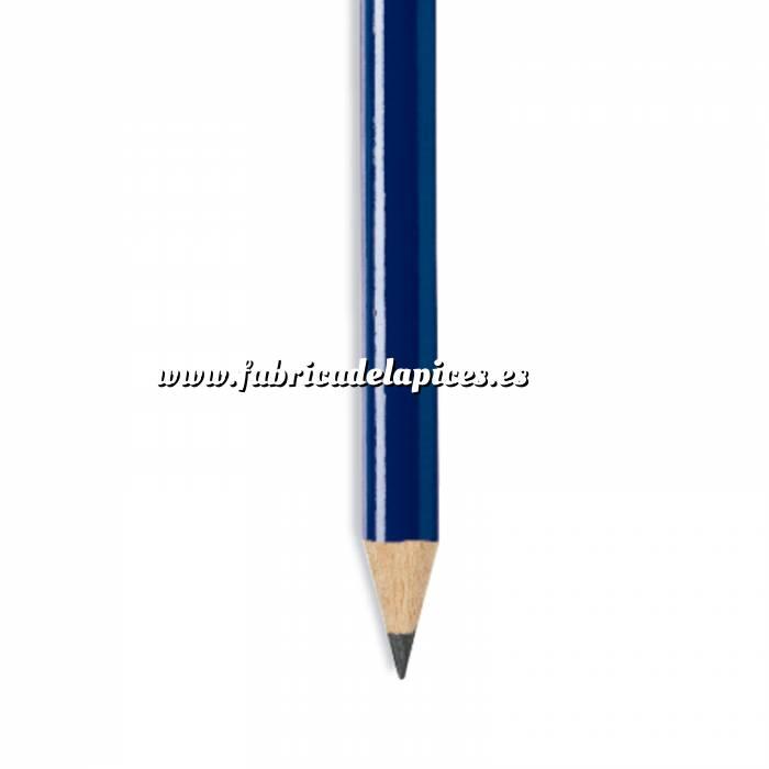 Imagen Redondo Lápiz redondo de plástico azul