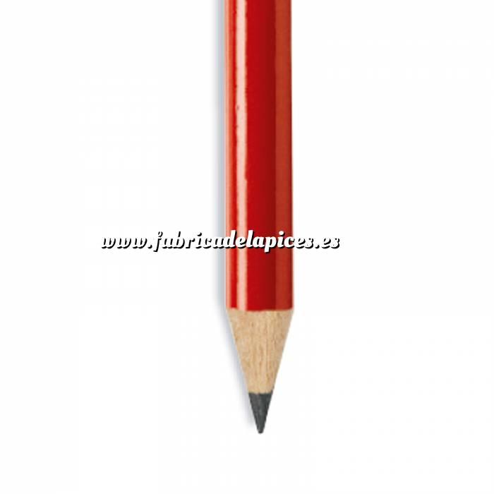 Imagen Redondo Lápiz redondo de plástico rojo
