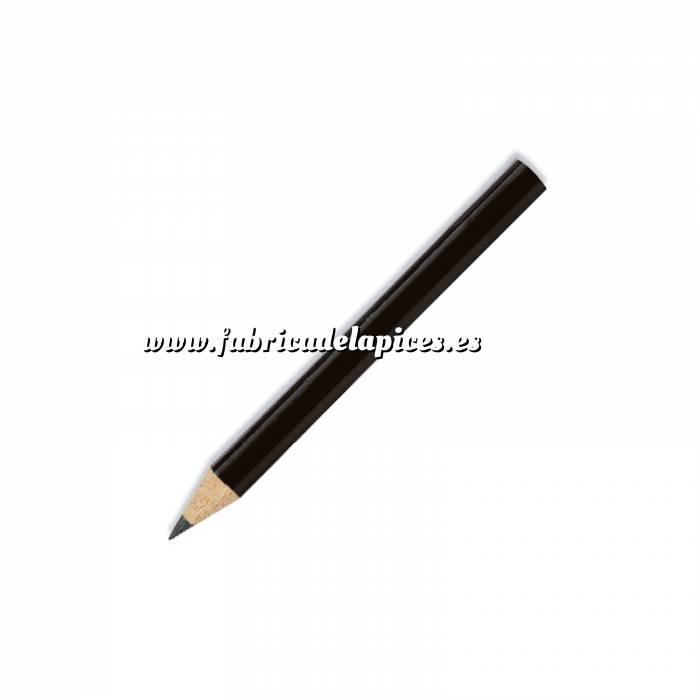 Imagen Redondo mini Lápiz pequeño redondo de madera color negro II