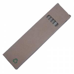 Imagen Cajas cartón Caja 6 lápices ecológicos