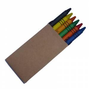Cajas de Ceras - Caja 6 ceras de colores