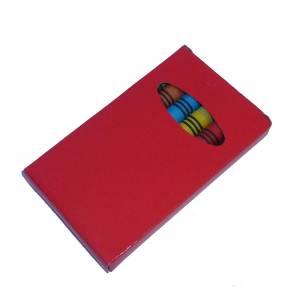 Imagen Cajas de Ceras Caja 6 ceras de colores caja roja