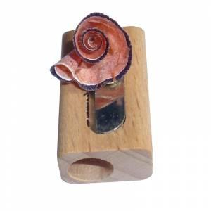 Cajas madera - Caja madera 6 lápices de colores en madera y complementos