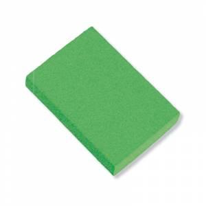 Gomas de Borrar - Goma de Borrar verde fluorescente