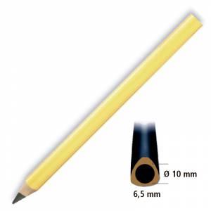 Imagen Triangular Cedro Lápiz triangular de madera cedro amarillo